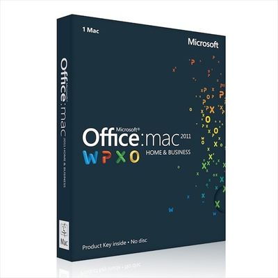 Κίνα office 2011 home and business for mac with best quality διανομέας